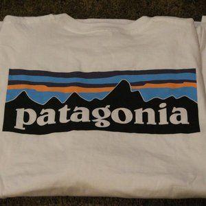 NWOT Patagonia White T-shirt